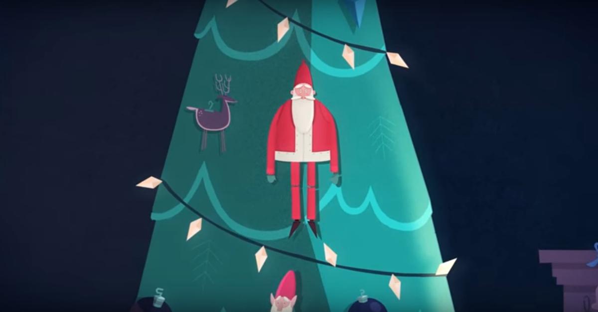 Санта Клаус заболел болезнью Альцгеймера в рекламе английского исследовательского института
