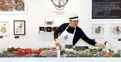Имена в мире вязания. Шикарная вязаная еда от Кейт Дженкинс  вязание,мастерство,творчество