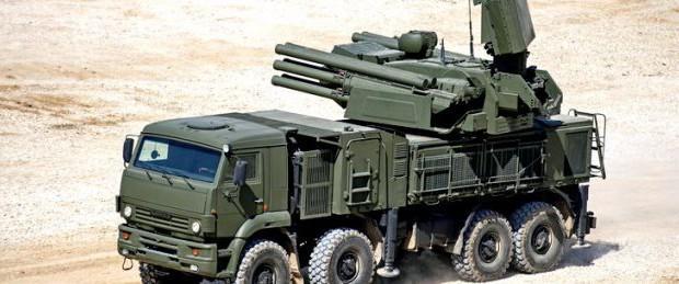 Панцирь С1 во время ракетного удара в Сирии из 50 ракет сбил 44