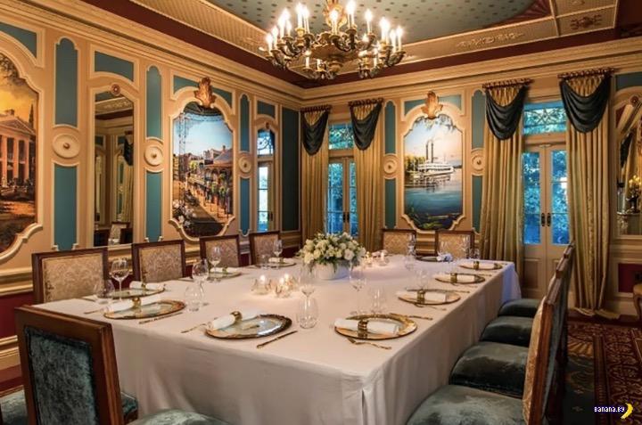Новый ресторан Диснейленда