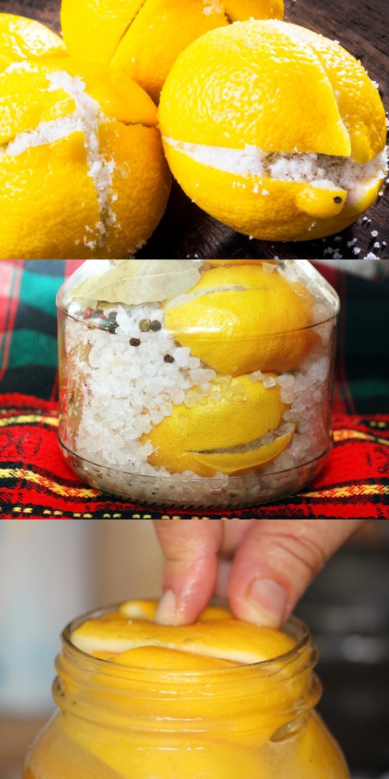 маринованные лимоны на зиму
