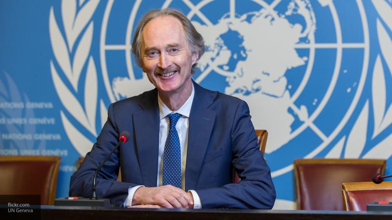 Спецпосланник ООН готов поддержать конституционный комитет Сирии