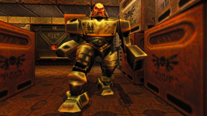 Моддер добавил в Quake 2 высокополигональные модели оружия