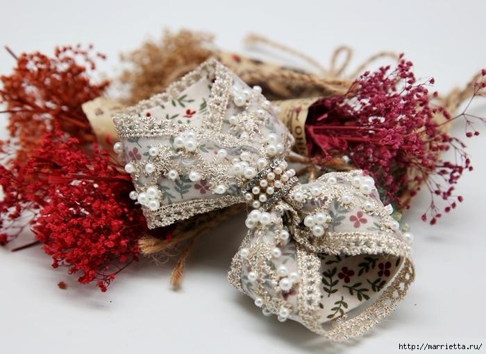 Бантик-бабочку для украшения одежды можно сделать своими руками