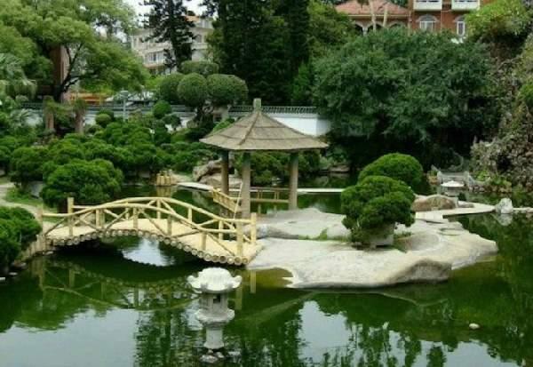 ландшафтный дизайн в китайском стиле, фото 28