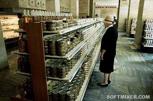 Дефицитные продукты в СССР