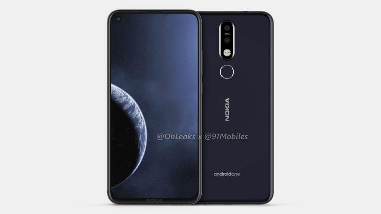 Nokia 8.1 Plus с «дырявым» дисплеем появился на 3D-рендерах