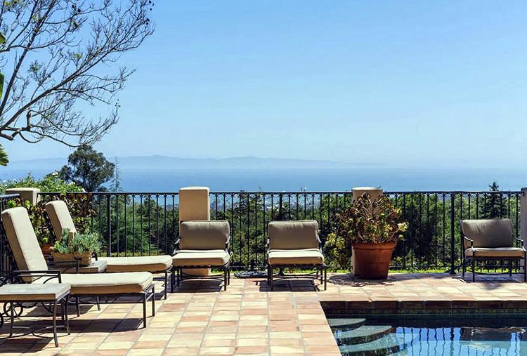 В гостях у Кэти Перри и Орландо Блума: экскурсия по их новому особняку в Монтесито с видом на океан Стиль жизни,Дома звезд