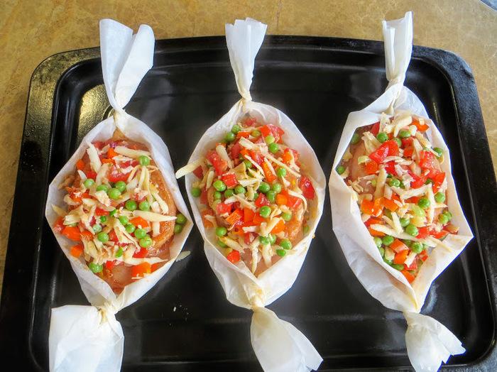 Все теперь будут просить этот рецепт / Куриные лодочки с овощами еда,пища,рецепты, кулинария