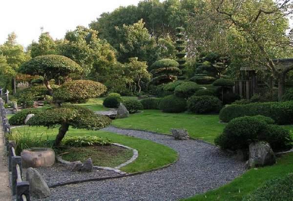 ландшафтный дизайн в японском стиле фото, фото 31