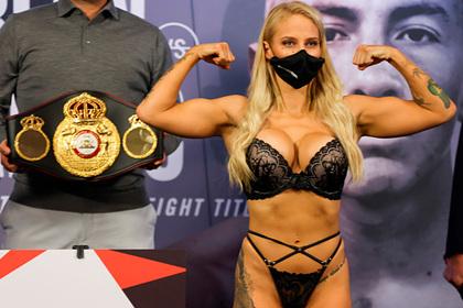 Боксерша пожаловалась на невозможность позировать в откровенном белье после боя