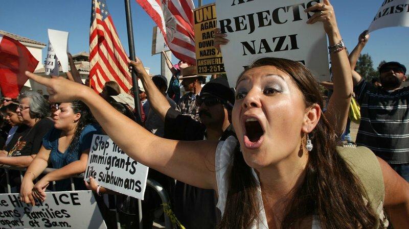 6. Вечное недовольство разных слоев населения америка, иммигранты, интересное, мнение