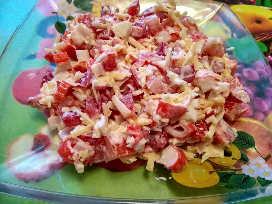 Яркий салат «Красное море» с…