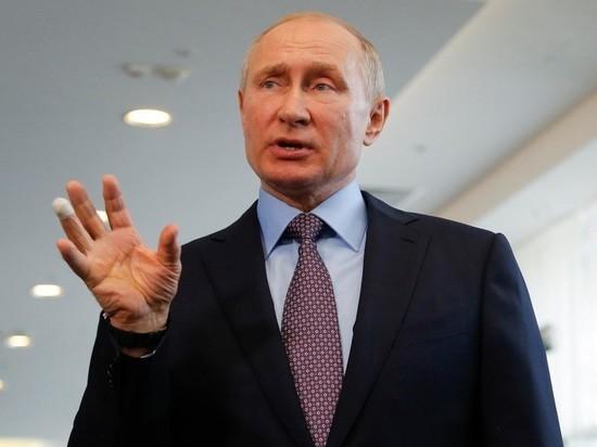 Путин считает, что второй волны коронавируса в России нет