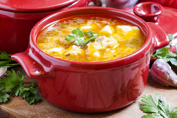 Обед с восточным колоритом: как приготовить суп шурпа шурпу, шурпа, перец, можно, кастрюлю, морковь, крышкой, взять, водой, зеленью, крупными, картофель, сладкий, бульон, закладываем, мясом, крупно, острый, кориандр, большими