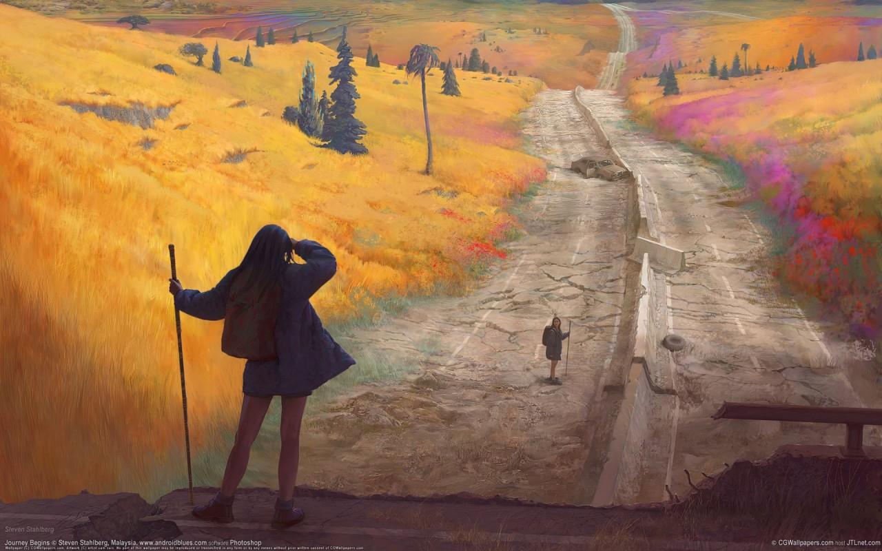 Чувствуешь отчаяние – рисуй дороги!
