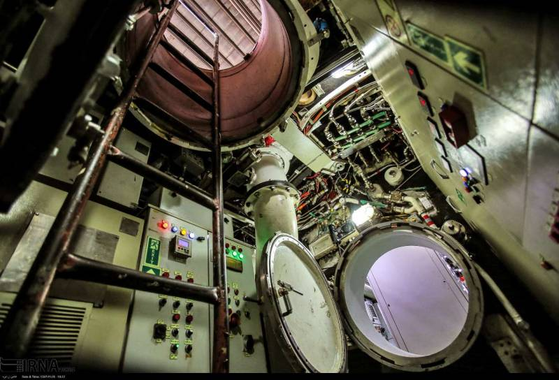 ДЭПЛ «Фатех». Новый корабль для ВМС Ирана вмф