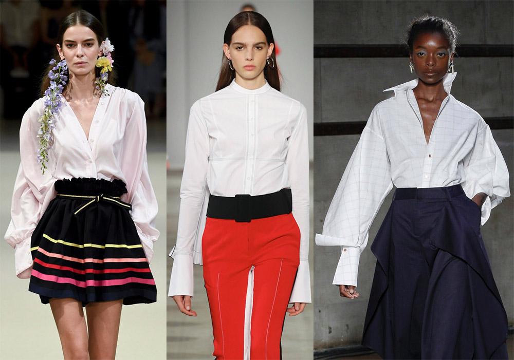5bdcf30bb02 Модные тенденции 2018  блузы и рубашки