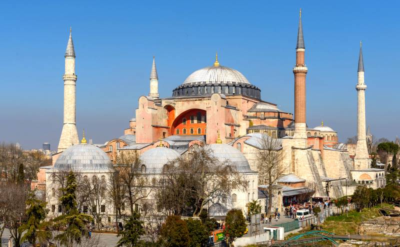 Указ Эрдогана: собор Святой Софии стал мечетью