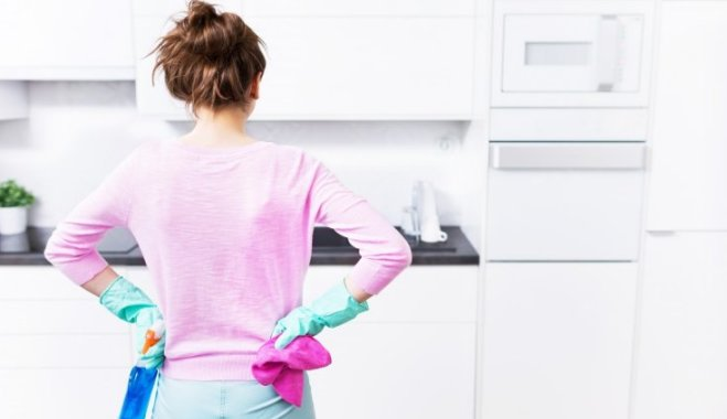 Как гениально и быстро почистить фасады кухни