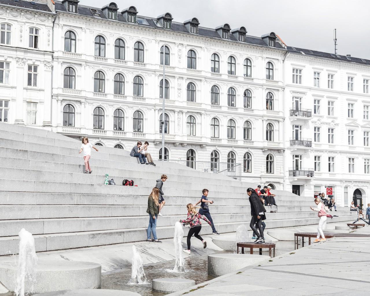 Как выглядит площадь Израиля в Копенгагене