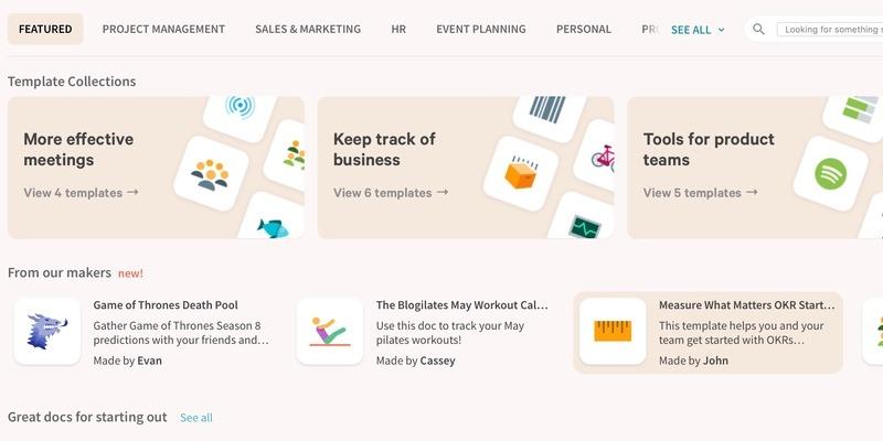 Coda — приложение, которое меняет наш взгляд на документы