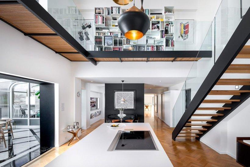 Элитное жилье: как выглядят внутри квартиры в необычном доме из бетонных блоков архитектура,интерьер и дизайн,о недвижимости