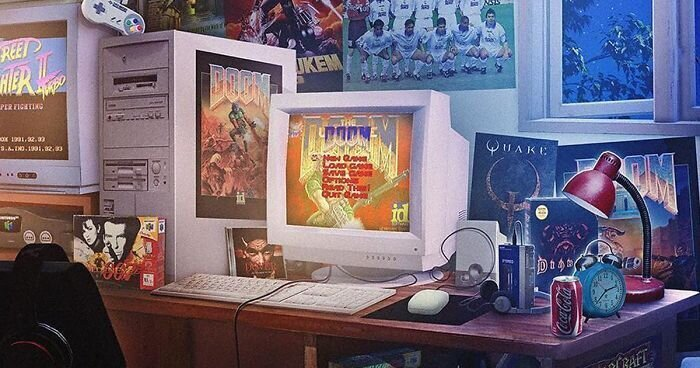 Художник рисует ностальгические арты по старым видеоиграм