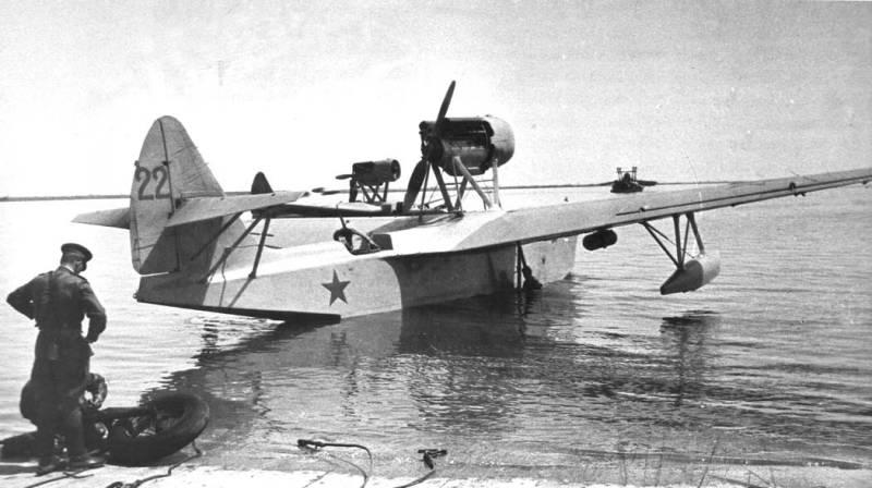 Боевые самолеты. МБР-2, «амбарчик» Бериева