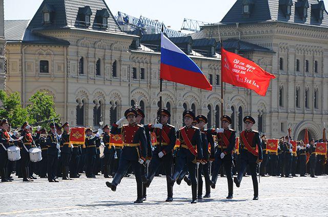 В Москву прибыла военная техника, которая будет участвовать в параде 9 мая