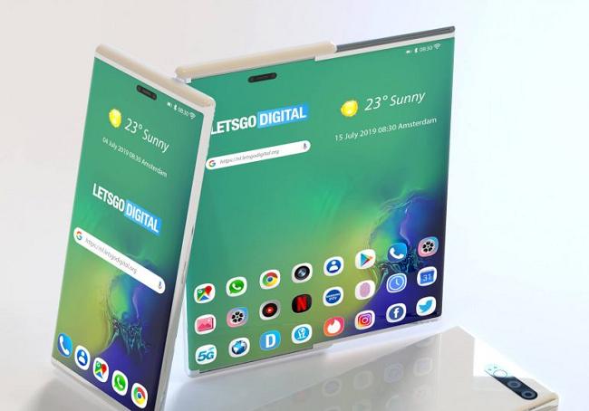 Запатентован смартфон будущего от Samsung