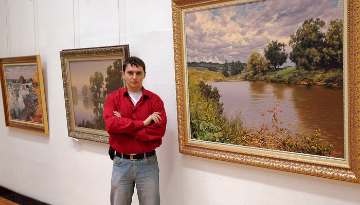Художник-пейзажист Алексей Адамов