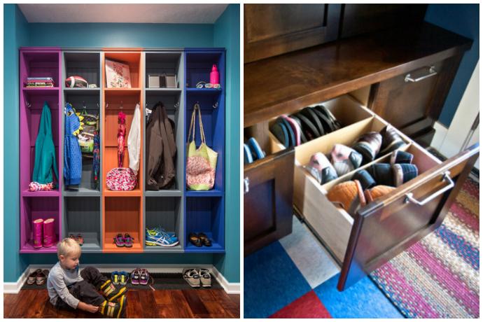 Как организовать хранение обуви — идеи и варианты