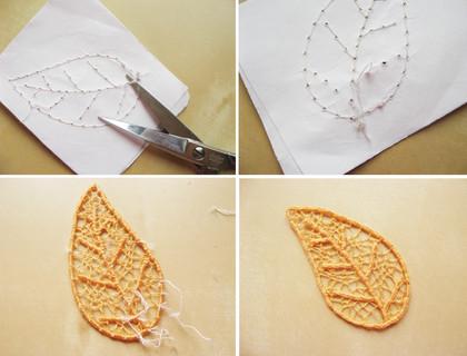 Невероятно красивая техника игольного кружева
