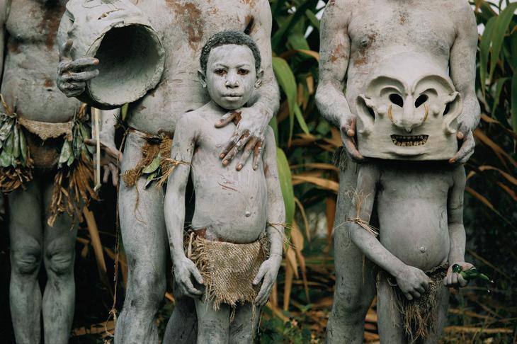 Глиняные люди. Папуа-Новая Гвинея