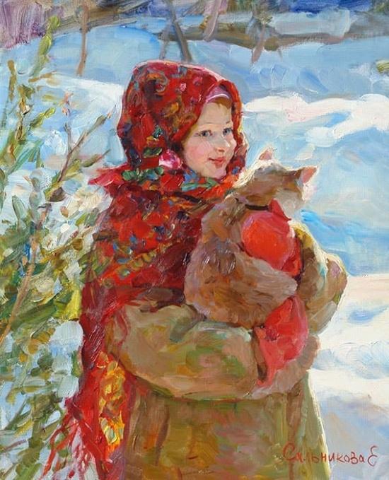 художник Елена Сальникова картины – 12