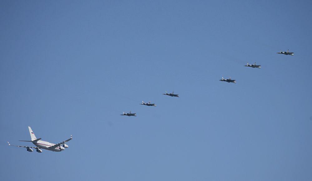 Путин захотел 76 Су-57 вооружение,общество,Путин,Су-57