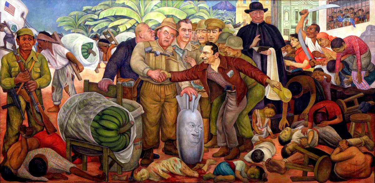 Ленский расстрел 1912  повторился  в  «Банановом» побоище