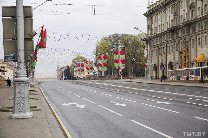 Фоторепортаж: Минск украсили к 9 мая 9 мая, минск, фоторепортаж