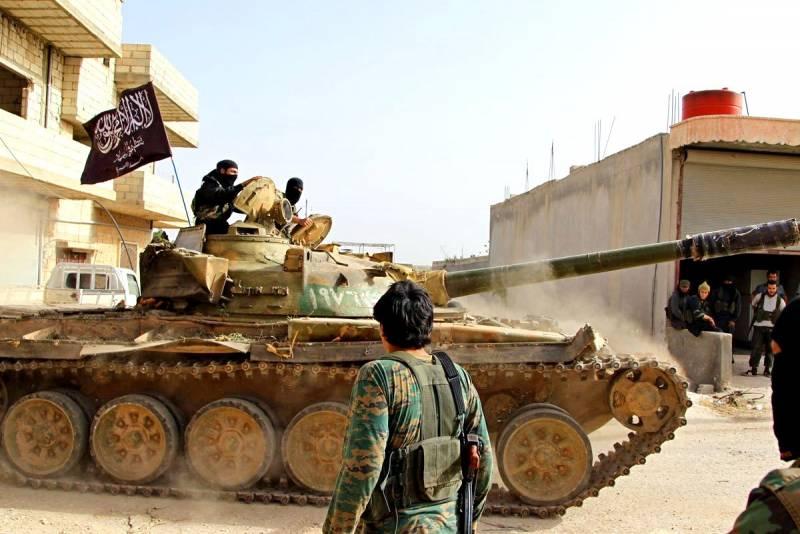 Удар в спину: кто поставил оружие наступающим боевикам в Сирии?