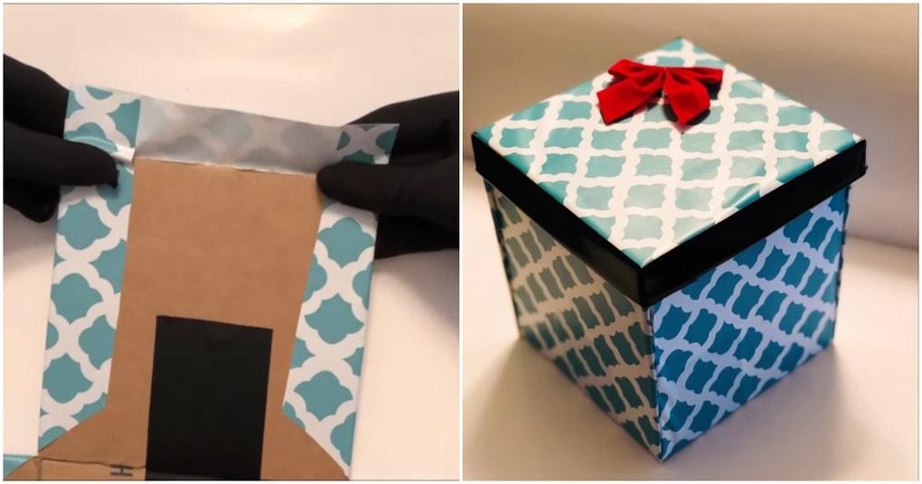 Подарочная коробка с секрето…