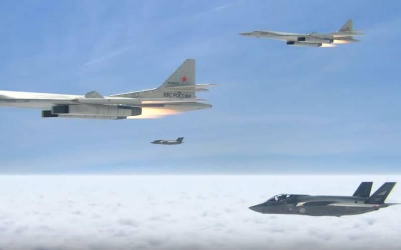 3D-анимацию провального перехвата Ту-160 норвежскими F-35 обсуждают в сети Новости