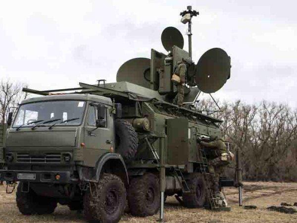 Российская армия на границе …