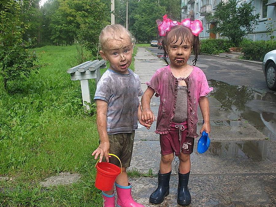 Смешные картинки грязных детей