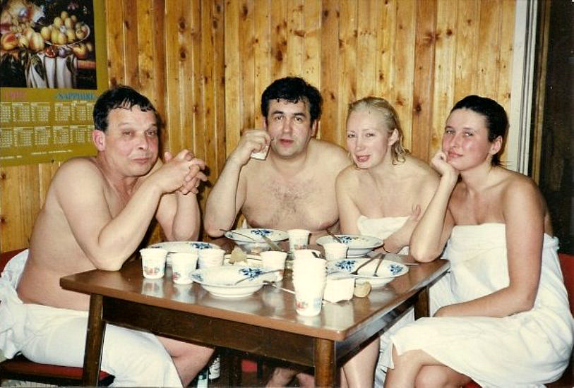 Фото жены и кумы в бане информация