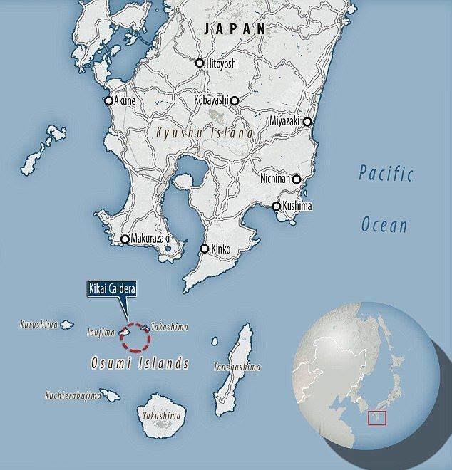 У берегов Японии закипает вулкан-убийца ynews, вулкан, извержение, лава, новости, опасности природы, стихия, япония