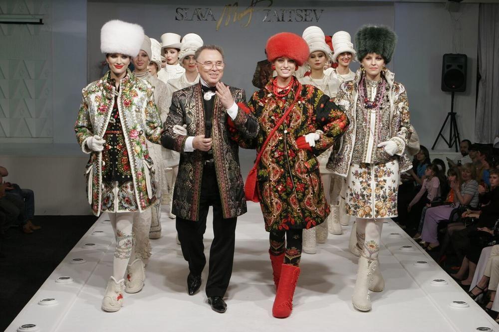slava zaitsev, осень-зима, модный показ, москва