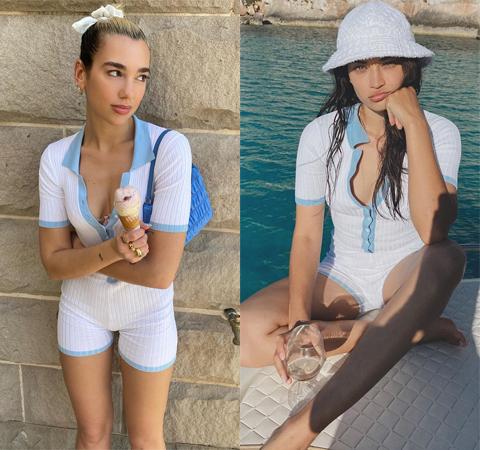 Модная битва: Дуа Липа против Шанины Шейк