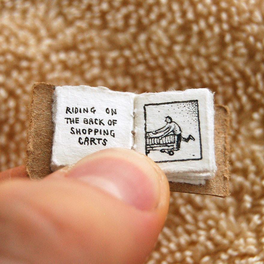 Кататься на магазинной тележке  книга, миниатюра