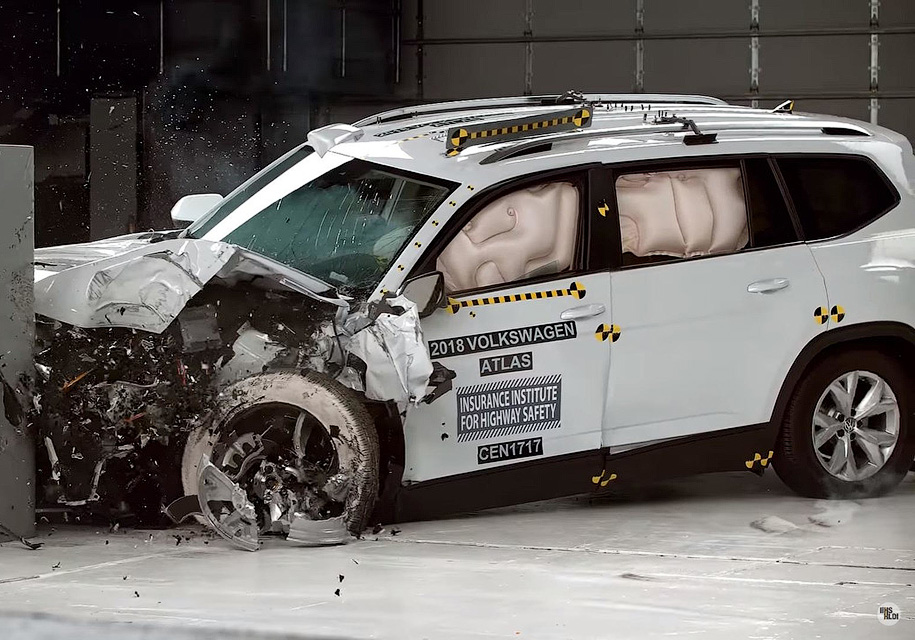 Volkswagen Atlas не смог пол…